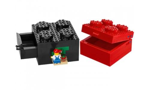 Красная шкатулка и чёрный ящик 40118 Лего Аксессуары (Lego Accessories)