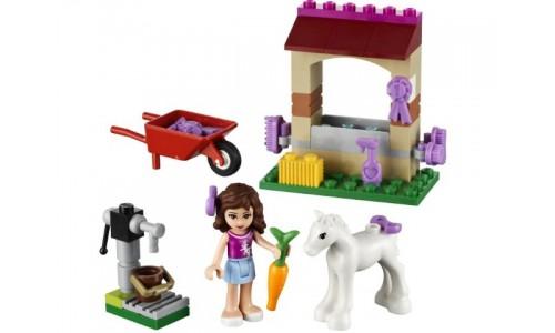 Маленькая лошадка Оливии 41003 Лего Подружки (Lego Friends)