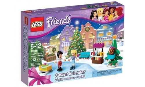 Новогодний календарь Friends 41016 Лего Подружки (Lego Friends)