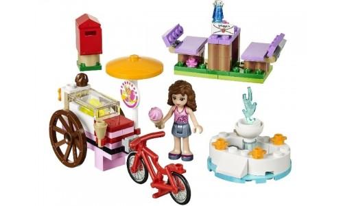 Оливия и велосипед с мороженым 41030 Лего Подружки (Lego Friends)