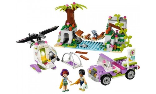 Спасательная операция на мосту 41036 Лего Подружки (Lego Friends)