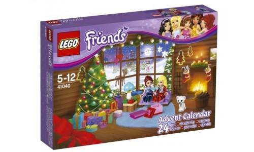 Новогодний календарь Friends 41040 Лего Подружки (Lego Friends)