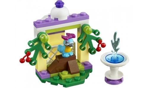 Фонтан попугая Ара 41044 Лего Подружки (Lego Friends)