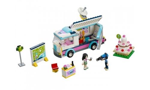 Новостной фургон Хартлейк 41056 Лего Подружки (Lego Friends)