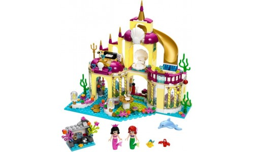 Подводный дворец Ариэль 41063 Лего Принцессы Дисней (Lego Disney Princesses)