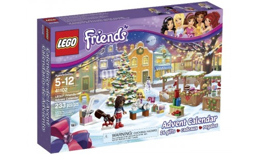Новогодний календарь Friends 41102 Лего Подружки (Lego Friends)