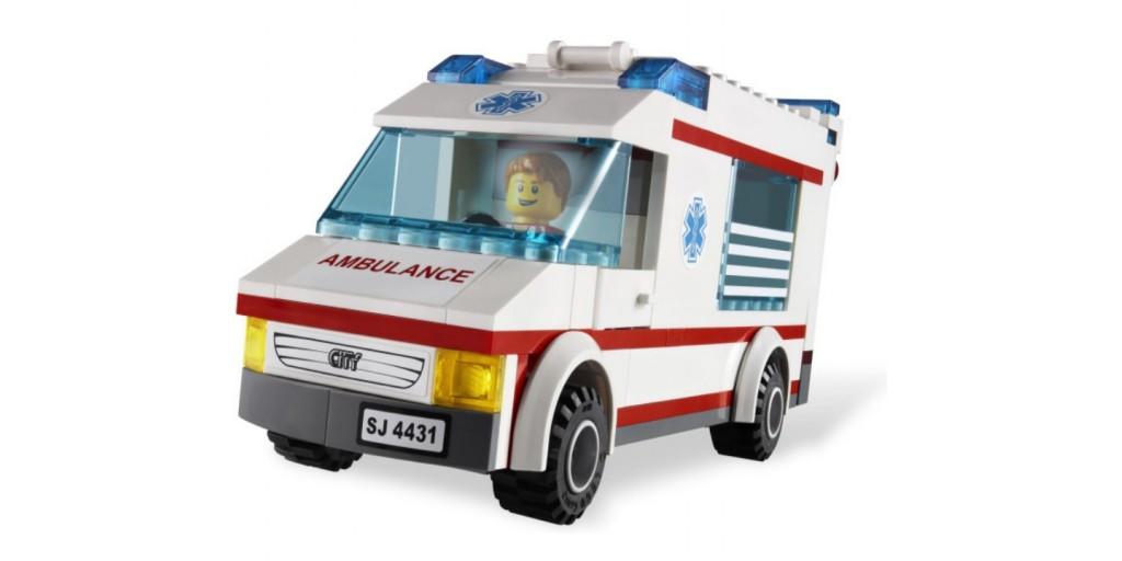 Гонки машинах скорой помощи
