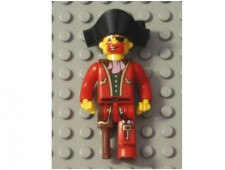 Pirates - Captain Redbeard - 4j014