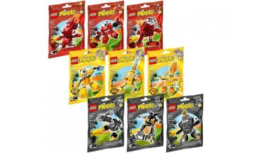 Коллекция: Миксели 1-я серия 5003799 Лего Миксели (Lego Mixels)