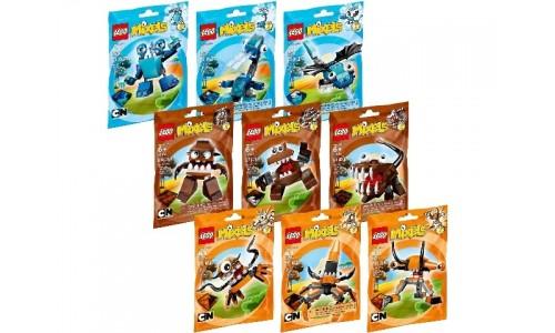 Коллекция: Миксели 2-я серия 5003808 Лего Миксели (Lego Mixels)
