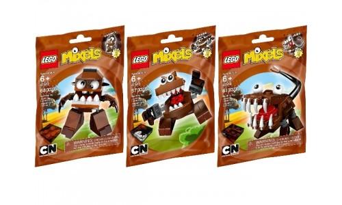 Коллекция - Коричневые Миксели 5003810 Лего Миксели (Lego Mixels)