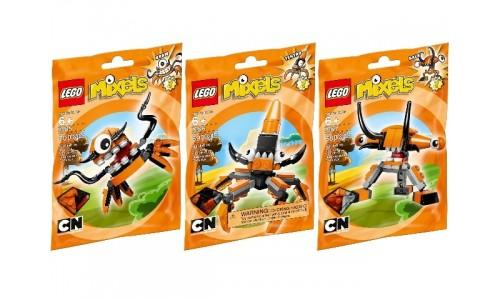 Коллекция - Оранжевые Миксели 5003811 Лего Миксели (Lego Mixels)