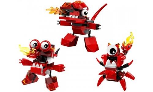 Коллекция  - Инферниты 5004553 Лего Миксели (Lego Mixels)