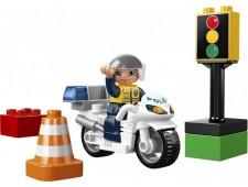 Полицейский мотоцикл Duplo - 5679