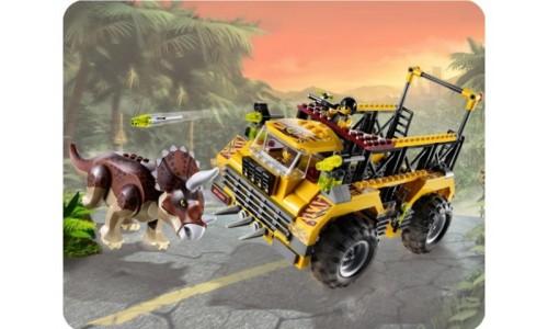 Ловушка для Трицератопса 5885 Лего Дино (Lego Dino)