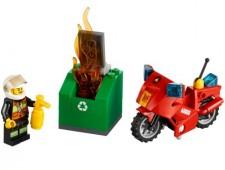 Пожарный на мотоцикле - 60000