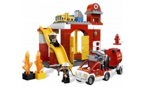 Пожарная станция 6168 Лего Дупло (Lego Duplo)