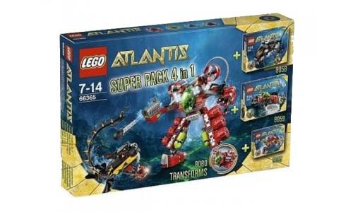 Подарочный набор 4 в 1: Атлантида 66365 Лего Атлантида (Lego Atlantis)