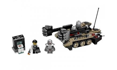 Проникновение гусеничного танка Тремора 70161 Лего Агенты (Lego Agents)