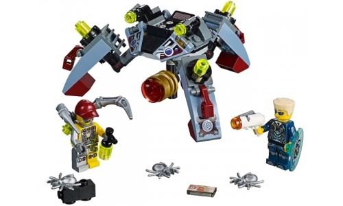 Проникновение шпионских пауков 70166 Лего Агенты (Lego Agents)