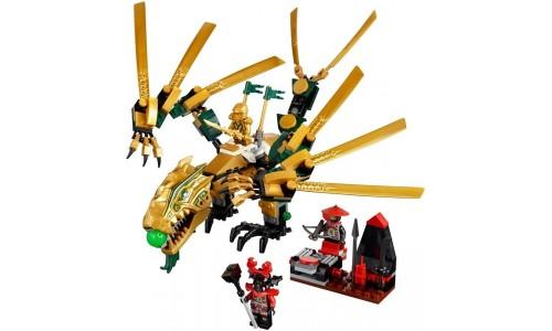 Золотой дракон 70503 Лего Ниндзя Го (Lego Ninja Go)