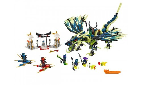 Атака Дракона Морро 70736 Лего Ниндзя Го (Lego Ninja Go)