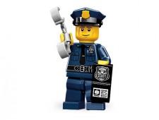 Минифигурки 9-й выпуск - Полицейский - 71000-6