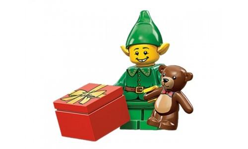 Минифигурки 11-й выпуск - Праздничный эльф 71002-7 Лего Минифигурки (Lego Minifigures)