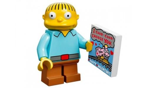 Минифигурки Симпсоны - Ральф Виггам 71005-10 Лего Минифигурки (Lego Minifigures)
