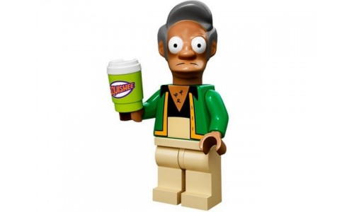 Минифигурки Симпсоны - Апу Нахасапимапетилон 71005-11 Лего Минифигурки (Lego Minifigures)