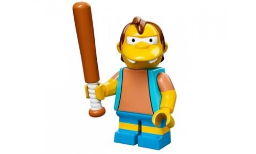 Минифигурки Симпсоны - Нельсон Манц 71005-12 Лего Минифигурки (Lego Minifigures)