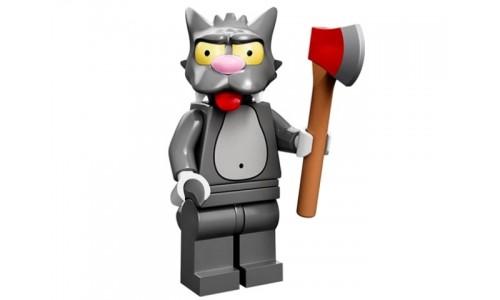 Минифигурки Симпсоны - Царапка 71005-14 Лего Минифигурки (Lego Minifigures)