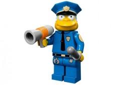 Минифигурки Симпсоны - Шеф полиции (Клэнси Виггам) - 71005-15