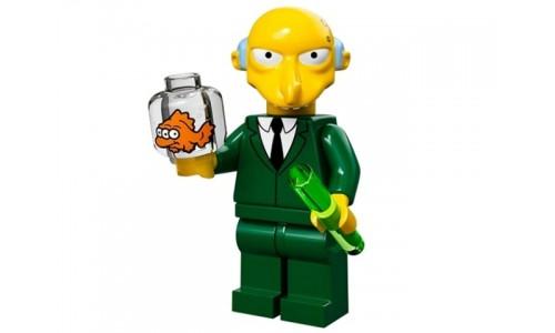 Минифигурки Симпсоны - Мистер Бёрнс 71005-16 Лего Минифигурки (Lego Minifigures)