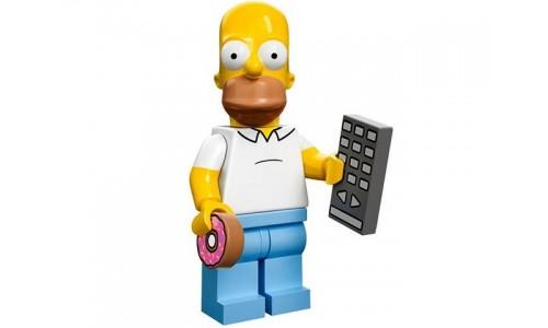 Минифигурки Симпсоны - Гомер Симпсон 71005-1 Лего Минифигурки (Lego Minifigures)