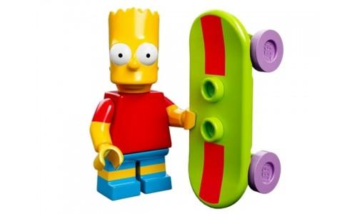 Минифигурки Симпсоны - Барт Симпсон 71005-2 Лего Минифигурки (Lego Minifigures)
