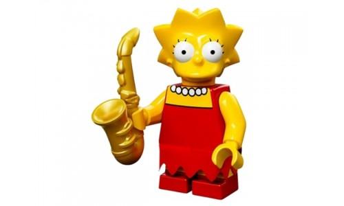 Минифигурки Симпсоны - Лиза Симпсон 71005-4 Лего Минифигурки (Lego Minifigures)