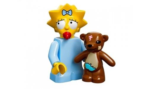 Минифигурки Симпсоны - Мэгги Симпсон 71005-5 Лего Минифигурки (Lego Minifigures)