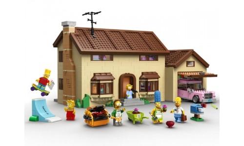 Дом Симпсонов 71006 Лего Симпсоны (Lego Simpsons)