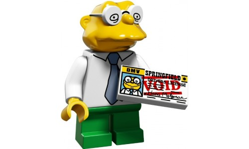 Минифигурки Симпсоны 2-й выпуск - Ганс Молман 71009-10 Лего Минифигурки (Lego Minifigures)