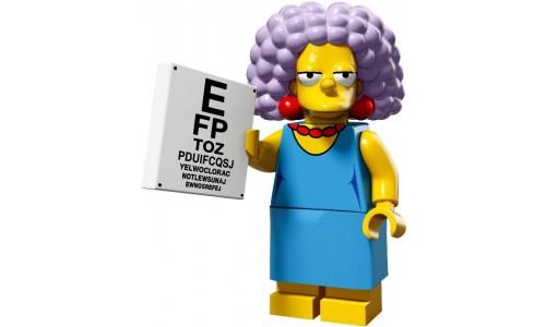 Минифигурки Симпсоны 2-й выпуск - Сельма Бувье 71009-11 Лего Минифигурки (Lego Minifigures)