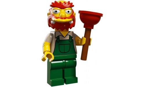 Минифигурки Симпсоны 2-й выпуск - Садовник Вилли 71009-13 Лего Минифигурки (Lego Minifigures)