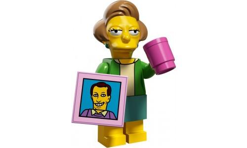 Минифигурки Симпсоны 2-й выпуск - Эдна Крабаппл 71009-14 Лего Минифигурки (Lego Minifigures)