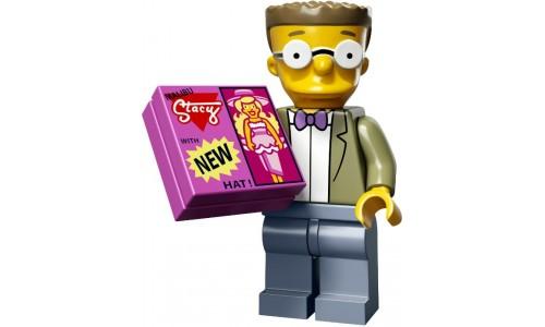 Минифигурки Симпсоны 2-й выпуск - Смитерс 71009-15 Лего Минифигурки (Lego Minifigures)