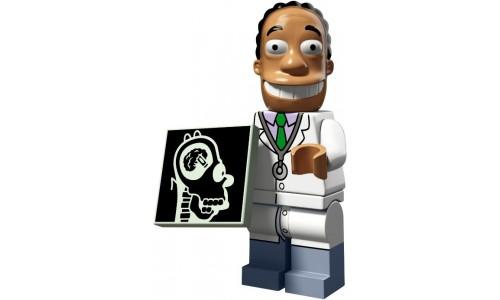 Минифигурки Симпсоны 2-й выпуск - Доктор Хибберт 71009-16 Лего Минифигурки (Lego Minifigures)