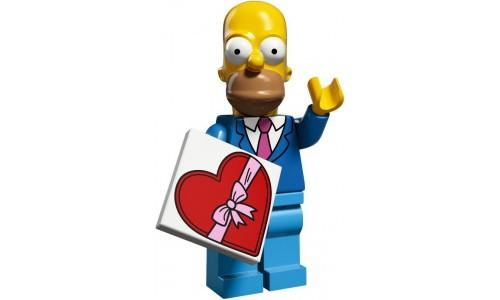 Минифигурки Симпсоны 2-й выпуск - Гомер 71009-1 Лего Минифигурки (Lego Minifigures)