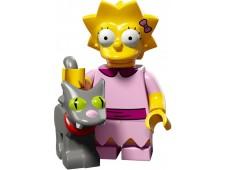 Минифигурки Симпсоны 2-й выпуск - Лиза и Снежинка II - 71009-3
