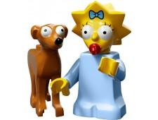 Минифигурки Симпсоны 2-й выпуск - Мэгги и Маленький помощник Санты - 71009-4