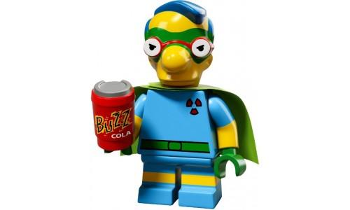 Минифигурки Симпсоны 2-й выпуск - Милхаус 71009-6 Лего Минифигурки (Lego Minifigures)