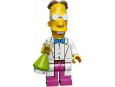Минифигурки Симпсоны 2-й выпуск - Профессор Фринк - 71009-9